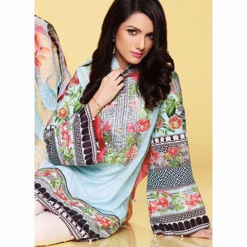 85f437dbe436 Casual Wear Pakistani Designer Lawn Suit