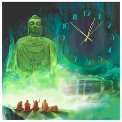 Handmade Decorative Buddha Wall Clock