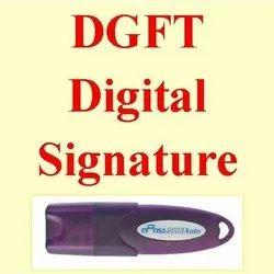 DGFT Digital Signature