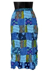 Printed Cotton Multi Patch Ladies Skirts