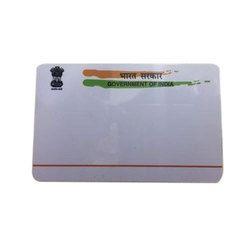Pre Printed Plastic Card