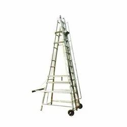 MNO-13 Aluminum Small Wheeled Tower Ladder