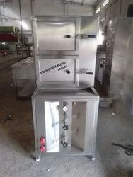 Stainless Steel Commercial Food Warmer Idli machine, For Restaurant, Size/Dimension: 18