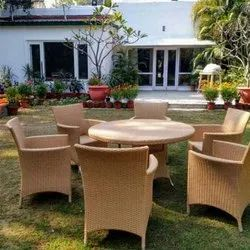 6 Seater Outdoor Table & Chair Set