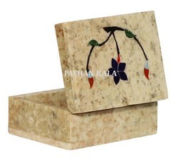 Soapstone Decorative Inlay Box