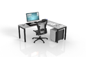 1 Way Executive Office Workstation