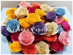 Gift Pack Paper Rose Flower, Size: 1, 23