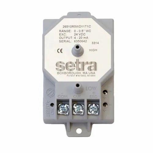 Setra 264 Differential Pressure Transducer 24v-dc