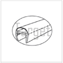 Shower Enclosures- 180 0 PVC Seal ''U'' Type