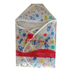 Cotton Printed New Born Baby Wrapper, 0-5 Years