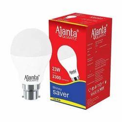Cool White 23W Ajanta LED Bulb, 220-240 V