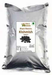 Veg E Wagon Black Kishmish (Raisins) Regular 1 Kg Raisins (1 kg, Vacuum Pack)
