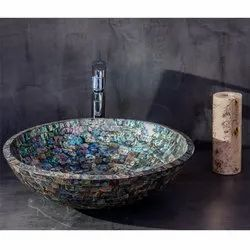 Capstona Paua Shell Wash Basin
