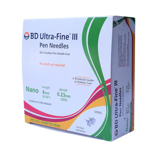 Bd Ultra Fine Pen Needles At Rs 550 Pack Medical Needles Id