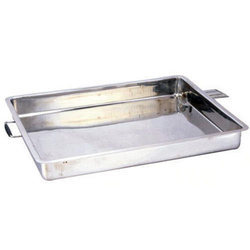 Geeta Silver Milk Collection Tray, For Dairy, Polished