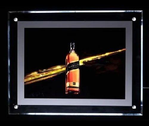 Led Magnetic Frame, LED Picture Frame, Light Emitting Diode Photo ...