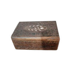 Wooden Square Box