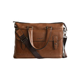 Goblin Brown PU / Leather Office Bag