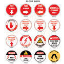Floor Marking Signage