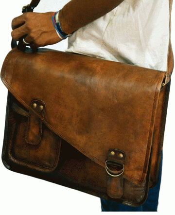 Handmade Leather Bags at Rs 2199