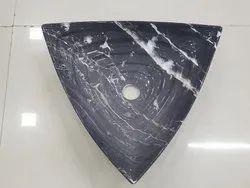 Triangle Ceramic Basin