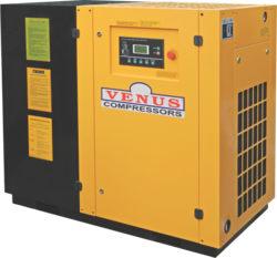 VENUS 20 T0 160 KW Energy Saving Screw Air Compressor, Warranty: 12 months