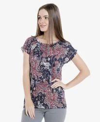 Escone Hosiery Cotton Women''S Printed Top