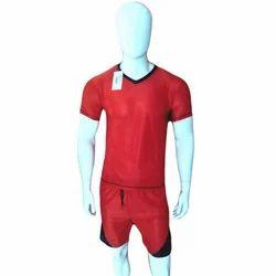 Half Sleeve V Neck Jersey Set