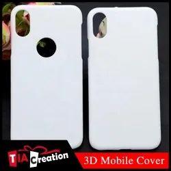 Plastic White 3D Sublimation Covers