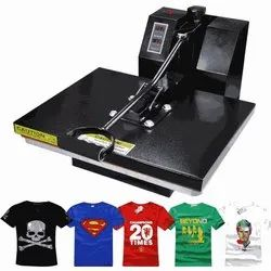 T Shirt Printing Machine, Model Name/Number: t3467, Automation Grade: Semi-Automatic