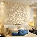 Royal Pattern PVC印花垂直设计壁纸,为家,大小:1.75 x 33适合