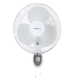 Platina Wall Fan - 400 Mm Sweep White