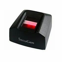 Black SecuGen Hamster Pro 20 Scanner
