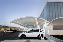 Tensile Car Parking Structure