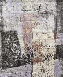 Handmade Wool Bamboo Silk Carpets For Living Area