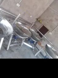 Steam Khoya Making Machine