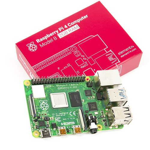 Raspberry Pi 4 Model-B with 2 GB RAM