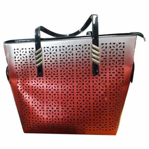 f1a43d07 Daphne Red Laser Cut Shoulder Bags, Rs 650 /piece, Daphne Fashion ...