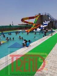 Amusement Park Water Slides