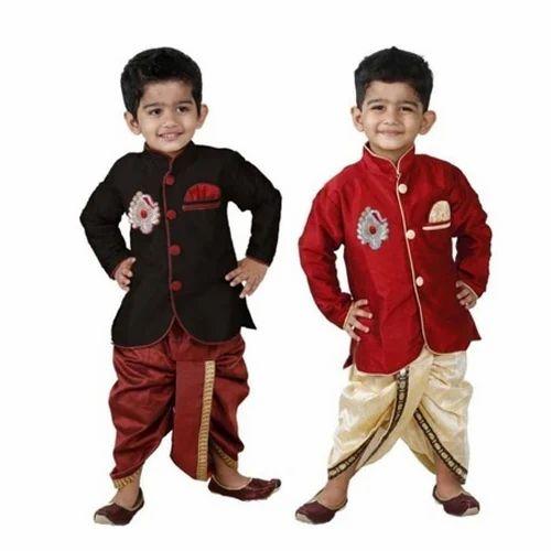 01cb956b8c5e Kids Boy Designer Dhoti Kurta at Rs 157 /piece | Children Dhoti ...