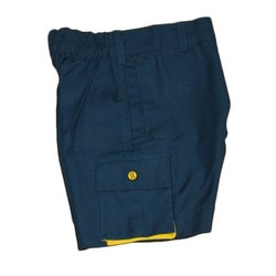 School Plain Shorts