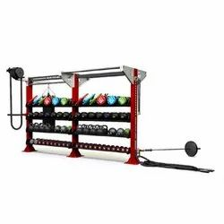 Escape Fitness Two Bay Double Sided Hit Hub Frame