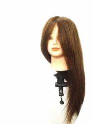 100%Original Human Soft Hair for Practice/Cutting/Coloring/Makeup Dummy