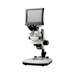 LCD Digital Zoom Stereo Microscope