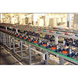 Industrial Assembly Line Conveyor