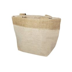 Plain Brown Fancy Jute Bag, Capacity: 2-5 Kg
