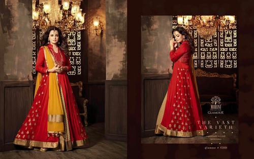 50c5bc97b3 Mohini Glamour Vol 45 Dia Mirza Party Wear Collection In Singles at ...