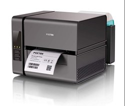 BLACK Thermal Printers POSTEK BARCODE PRINTER, USB, Model Name/Number: EM210
