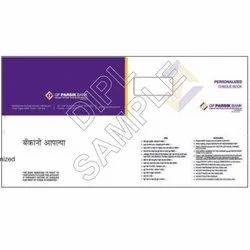 20074 Cheque Book Cover Page