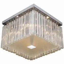 LED Jaquar KCH-CHR-MX81364A Crystal Drop Decorative Ceiling Light, For Decoration, 4 X 40w